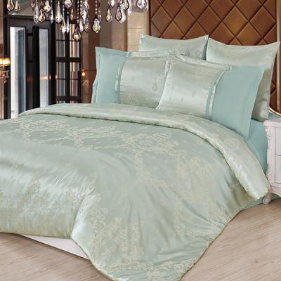 Постельное белье Cleo Satin Jacquard 088-SG (размер 2-спальный)