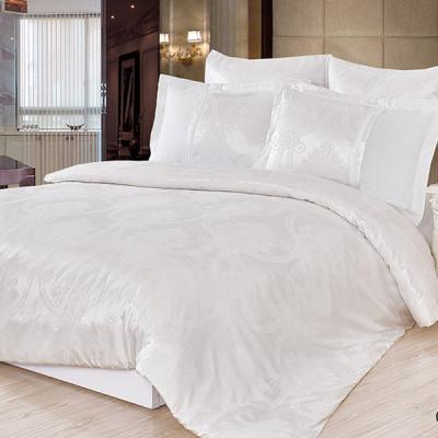 Постельное белье Cleo Satin Jacquard 091-SG (размер Евро)