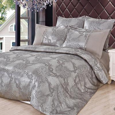 Постельное белье Cleo Satin Jacquard 092-SG (размер 2-спальный)