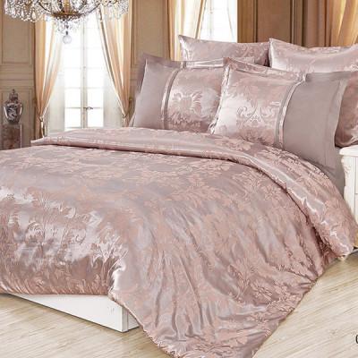 Постельное белье Cleo Satin Jacquard 098-SG (размер Евро)