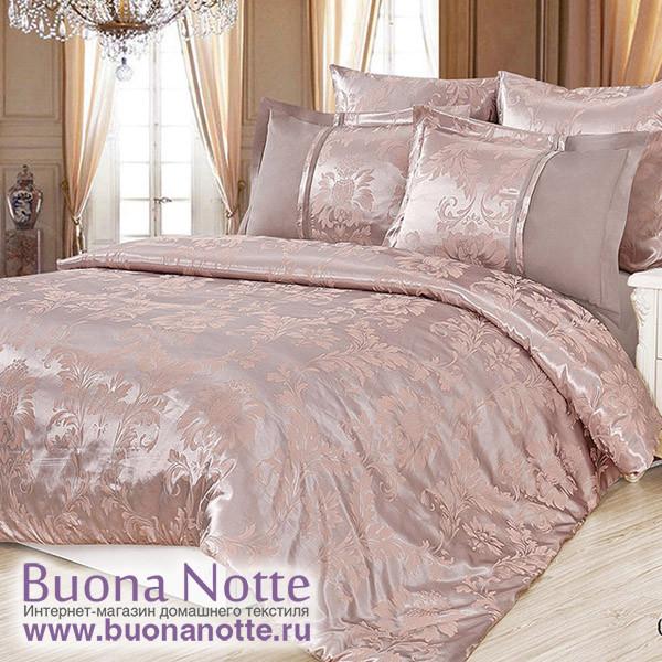 Комплект постельного белья Cleo Satin Jacquard 098-SG (размер 2-спальный)