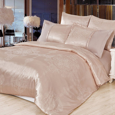 Постельное белье Cleo Satin Jacquard 099-SG (размер 2-спальный)