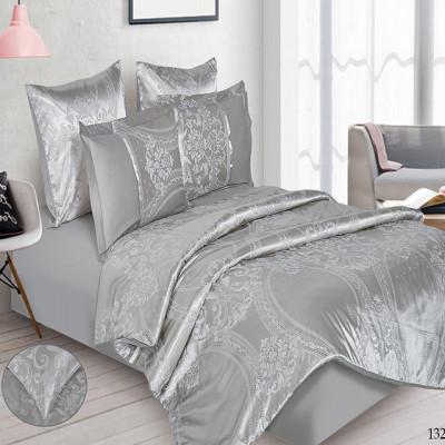 Постельное белье Cleo Satin Jacquard 132-SG (размер Семейный)