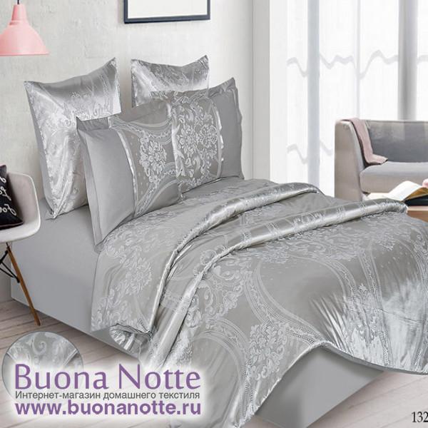 Комплект постельного белья Cleo Satin Jacquard 132-SG (размер Евро)
