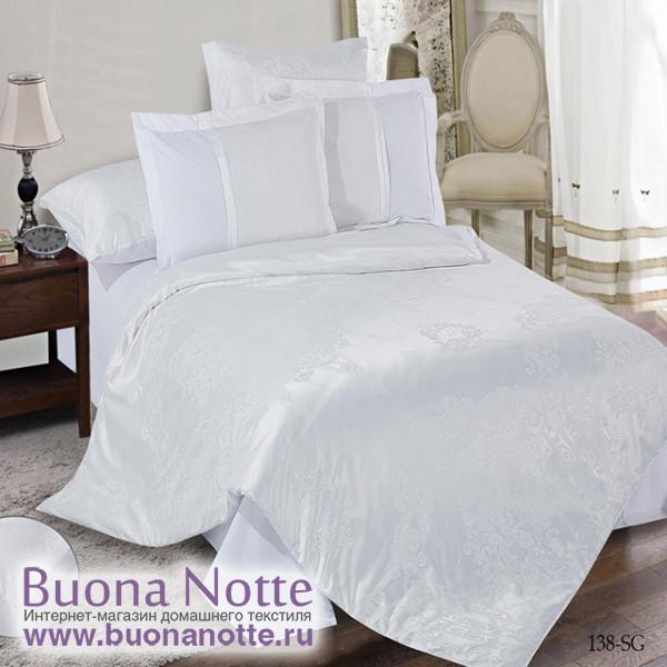 Комплект постельного белья Cleo Satin Jacquard 138-SG (размер 2-спальный)