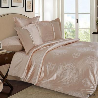 Постельное белье Cleo Satin Jacquard 139-SG (размер 2-спальный)