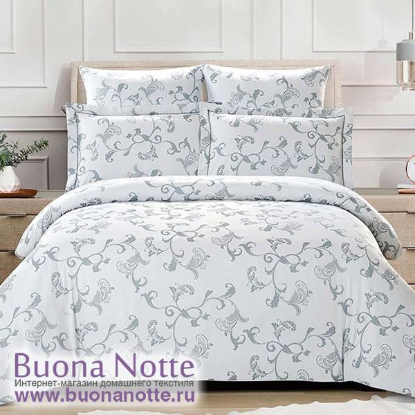 Комплект постельного белья Cleo Tencel Jacquard 003-TJ (размер Семейный)