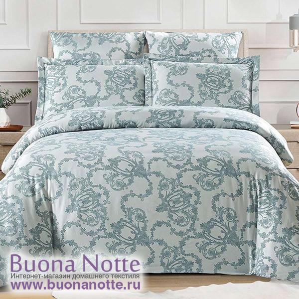 Комплект постельного белья Cleo Tencel Jacquard 007-TJ (размер Евро)