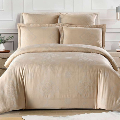 Постельное белье Cleo Tencel Jacquard 018-TJ (размер 2-спальный)