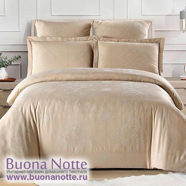 Комплект постельного белья Cleo Tencel Jacquard 018-TJ (размер 2-спальный)