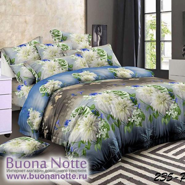 Комплект постельного белья Cleo Polysatin 235-PS (размер 2-спальный)