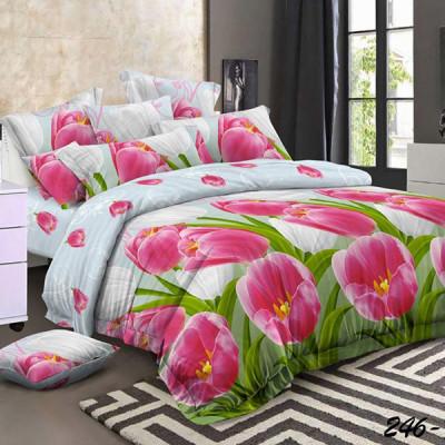 Постельное белье Cleo Polysatin 246-PS (размер 2-спальный)