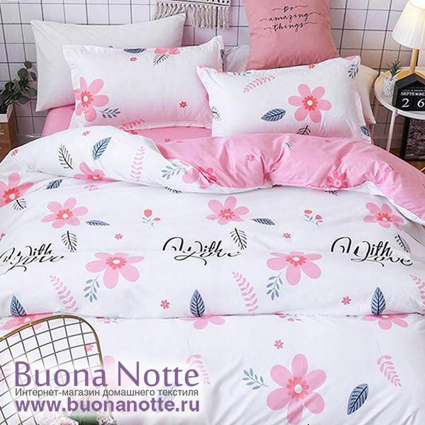 Комплект постельного белья Cleo Pure Cotton 068-PC (размер 2-спальный)