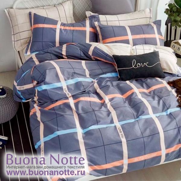 Комплект постельного белья Cleo Pure Cotton 076-PC (размер 1,5-спальный)