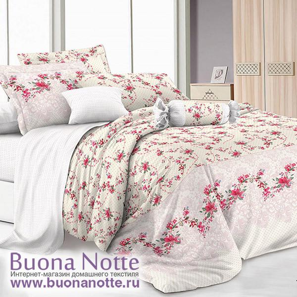 Комплект постельного белья Cleo Pure Cotton 105-PC (размер 1,5-спальный)