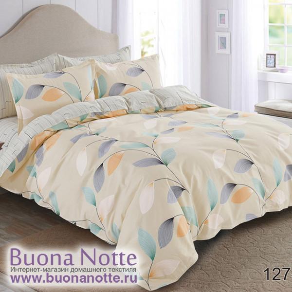Комплект постельного белья Cleo Pure Cotton 127-PC (размер 2-спальный)