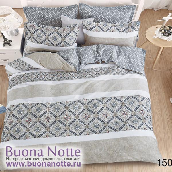 Комплект постельного белья Cleo Pure Cotton 150-PC (размер Евро)