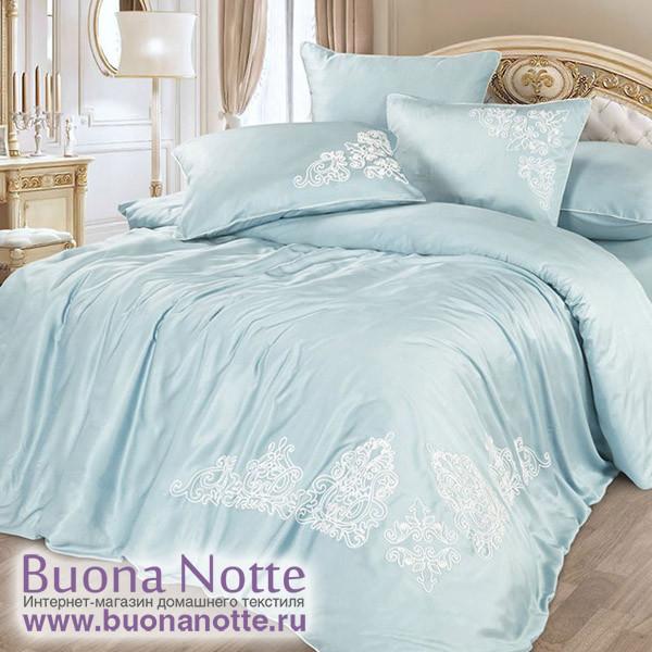 Комплект постельного белья Cleo Bamboo Satin 008-BS (размер Евро)