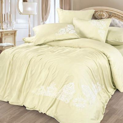 Постельное белье Cleo Bamboo Satin 009-BS (размер Евро)