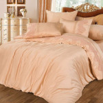 Комплект постельного белья Cleo Bamboo Satin 024-BS (размер Семейный)