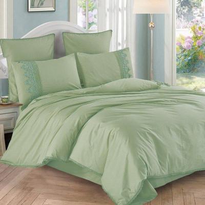 Постельное белье Cleo Cotton Lace 004-LE (размер Семейный)