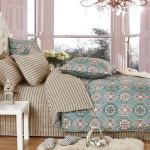 Комплект постельного белья Cleo Satin de Luxe 424-SK (размер Семейный)