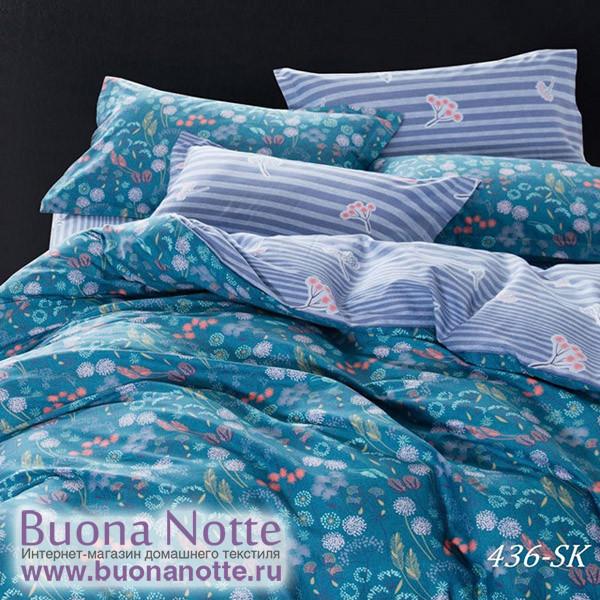 Комплект постельного белья Cleo Satin de Luxe 436-SK (размер Семейный)