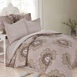 Комплект постельного белья Cleo Satin de Luxe 449-SK (размер 1,5-спальный)