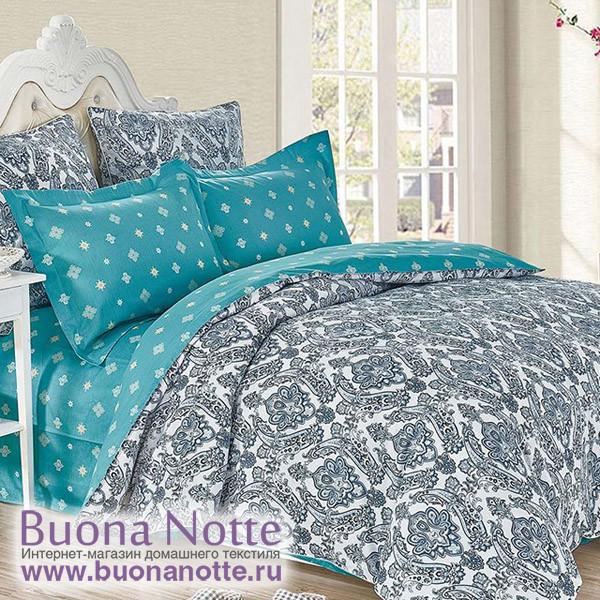 Комплект постельного белья Cleo Satin de Luxe 451-SK (размер Семейный)