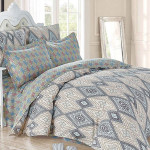 Комплект постельного белья Cleo Satin de Luxe 454-SK (размер 1,5-спальный)
