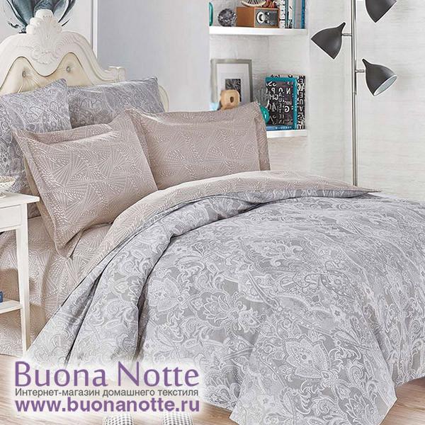 Комплект постельного белья Cleo Satin de Luxe 472-SK (размер Семейный)