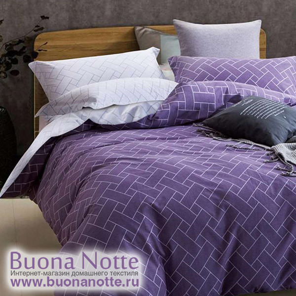 Комплект постельного белья Cleo Satin de Luxe 483-SK (размер Семейный)