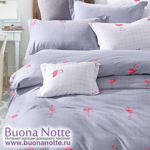 Комплект постельного белья Cleo Satin de Luxe 487-SK (размер Семейный)