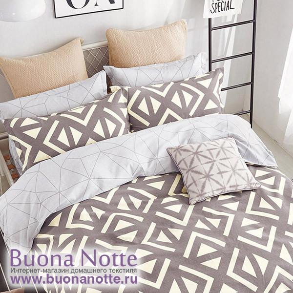 Комплект постельного белья Cleo Satin de Luxe 492-SK (размер Семейный)