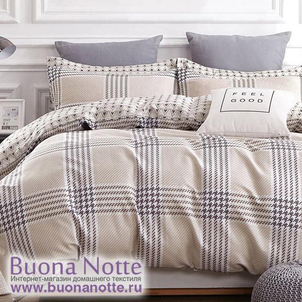 Комплект постельного белья Cleo Satin de Luxe 495-SK (размер Семейный)
