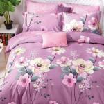 Комплект постельного белья Cleo Satin de Luxe 501-SK (размер 1,5-спальный)