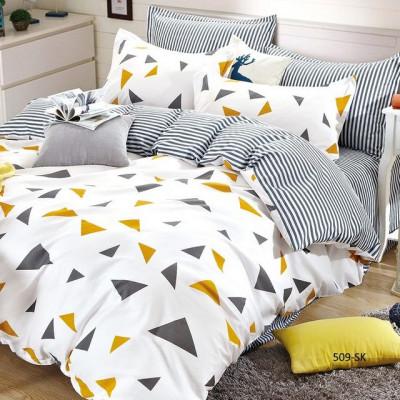 Постельное белье Cleo Satin de'Luxe 509-SK (размер 2-спальный)