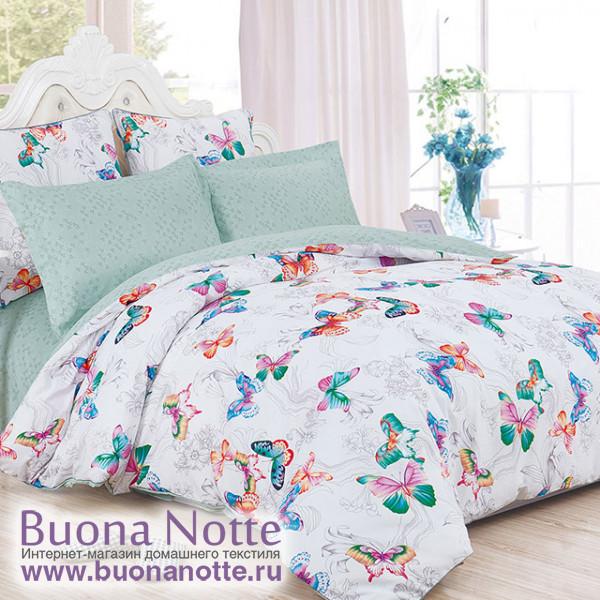 Комплект постельного белья Cleo Satin de Luxe 524-SK (размер 2-спальный)