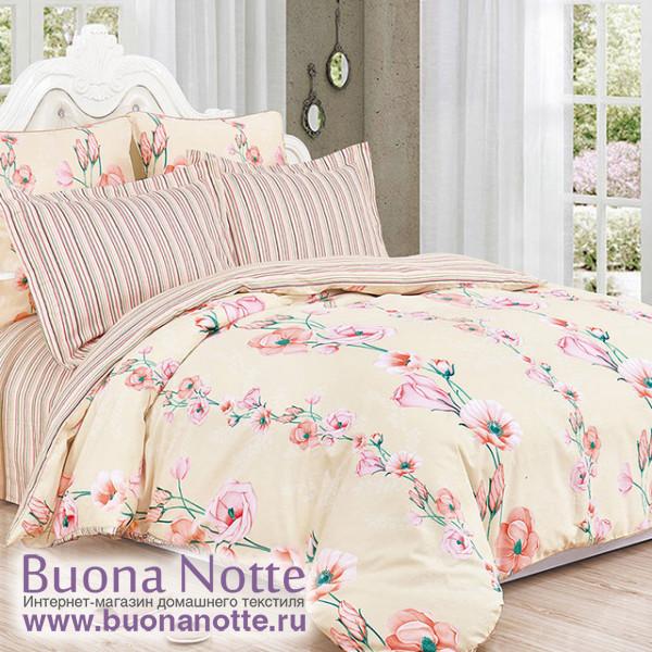 Комплект постельного белья Cleo Satin de Luxe 528-SK (размер 1,5-спальный)