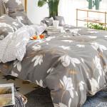 Комплект постельного белья Cleo Satin de Luxe 553-SK (размер Евро)