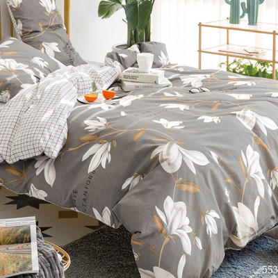Постельное белье Cleo Satin de'Luxe 553-SK (размер Семейный)
