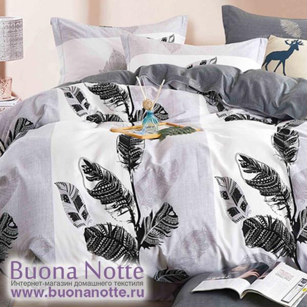 Комплект постельного белья Cleo Satin de Luxe 556-SK (размер 2-спальный)
