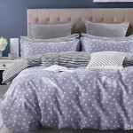 Комплект постельного белья Cleo Satin de Luxe 574-SK (размер 2-спальный)