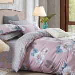 Комплект постельного белья Cleo Satin de Luxe 579-SK (размер Евро)