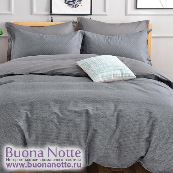 Комплект постельного белья Cleo Satin de Luxe 589-SK (размер Семейный)