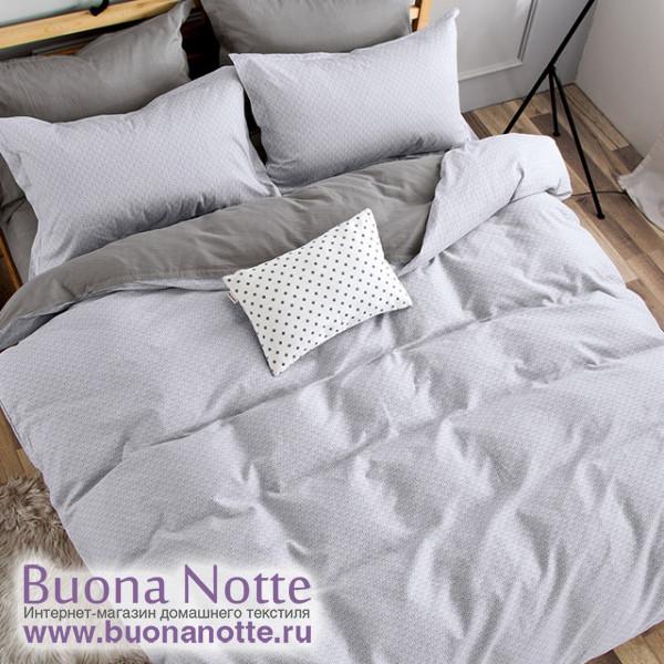 Комплект постельного белья Cleo Satin de Luxe 590-SK (размер Евро)