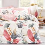 Комплект постельного белья Cleo Satin de Luxe 602-SK (размер Евро)