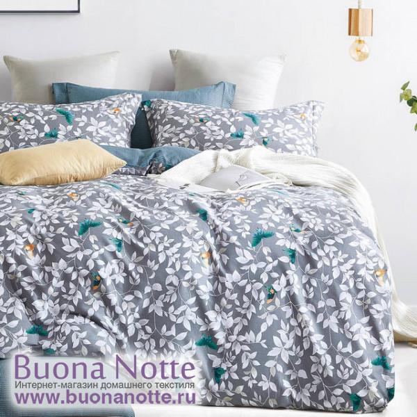 Комплект постельного белья Cleo Satin de Luxe 605-SK (размер Семейный)