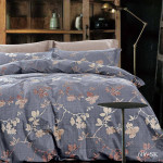 Комплект постельного белья Cleo Satin de Luxe 606-SK (размер 1,5-спальный)