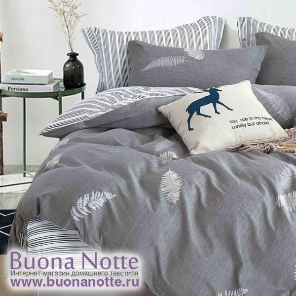 Комплект постельного белья Cleo Satin de Luxe 668-SK (размер Евро)